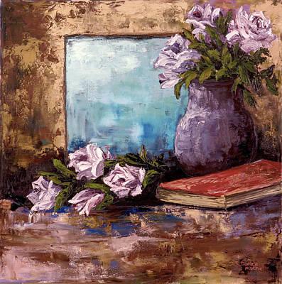 Painting - Lavendar Roses by Darice Machel McGuire