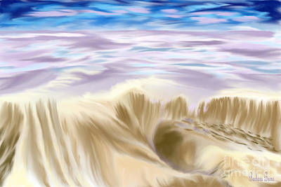 Painting - Lavendar Sea by Barbara Burns