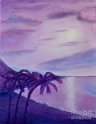 Painting - Lavender Bay by Melvin Turner