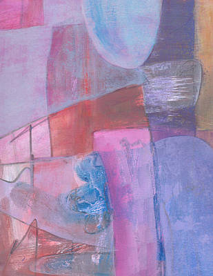 Mixed Media - Lavender Bed by Catherine Redmayne