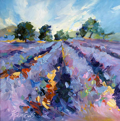 Lavender Blues Art Print