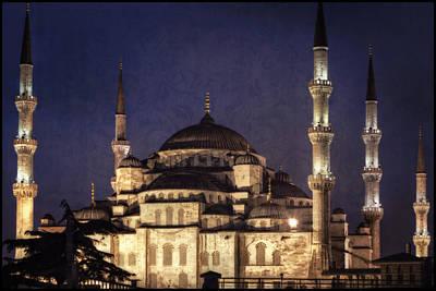 Islam Photograph - Lavender Brocade by Joan Carroll