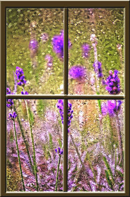 Digital Art - Lavender By The Window by Darlene Bell