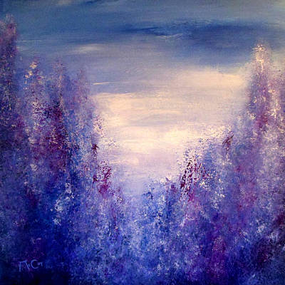 Provence Painting - Lavender Dreams by K McCoy