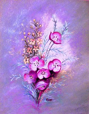 Painting - Lavender Fantasy by Hazel Holland
