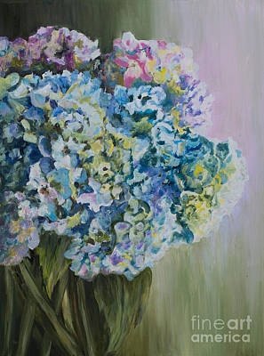 Painting - Lavender Glow by Diane Fujimoto