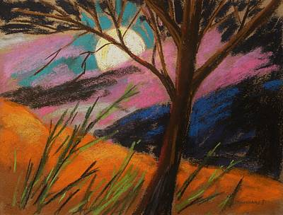 Lavender Drawing - Lavender Glowing by John Williams