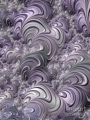 Digital Art - Lavender Hue  by Heidi Smith
