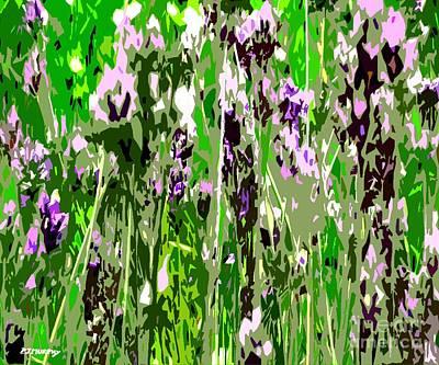 Lavender In Summer Art Print by Patrick J Murphy