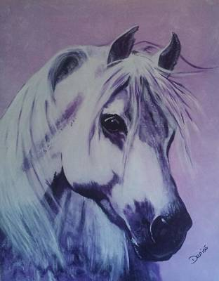 Painting - Lavender Lady by Denise Hills