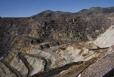 Photograph - Lavender Pit Copper Mine, Bisbee by Charlie Ott