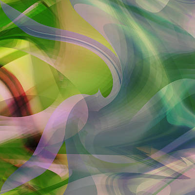 Digital Art - Lavender Rainbow by rd Erickson