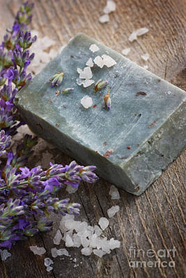 Photograph - Lavender Soap by Mythja  Photography
