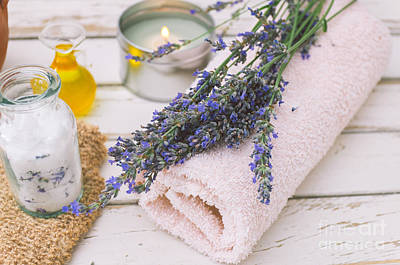 Photograph - Lavender Spa  by Viktor Pravdica