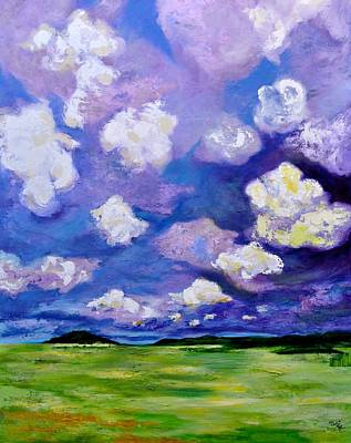 Painting - Lavender Storm by Debi Starr