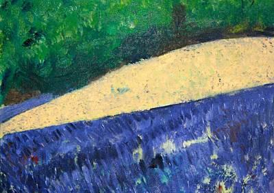 Painting - Lavender Summer by Phoenix De Vries