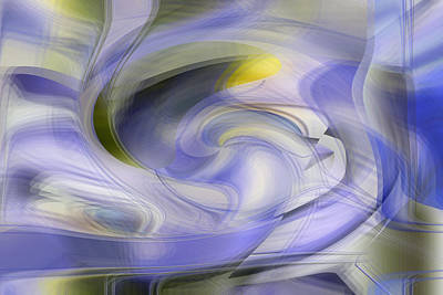 Digital Art - Lavender Today by rd Erickson