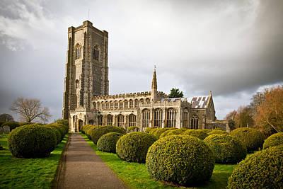 Lavenham Church Print by Tom Gowanlock