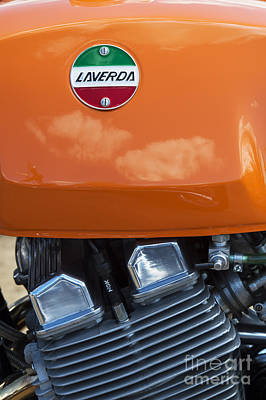 Photograph - Laverda Jota by Tim Gainey