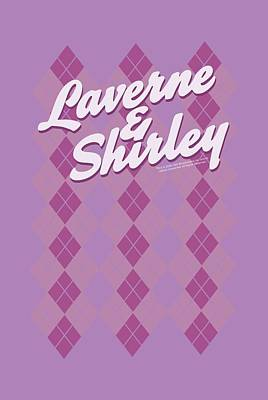 Shirley Digital Art - Laverne And Shirley - Argyle by Brand A