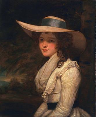 Lavinia Bingham, Countess Spencer Art Print by Sir Joshua Reynolds