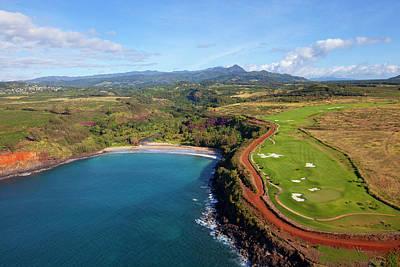 Poipu Photograph - Lawai Valley, Kukuiula, Poipu, Kauai by Douglas Peebles