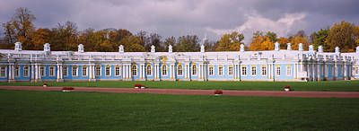 Catherine Photograph - Lawn In Front Of A Palace, Catherine by Panoramic Images