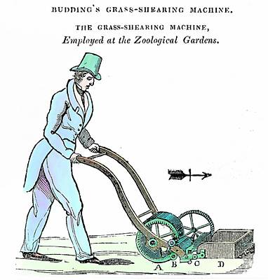 Mower Photograph - Lawn Mower by Universal History Archive/uig