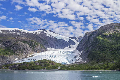 Photograph - Lawrence Glacier by Saya Studios