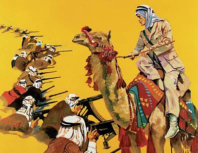 Camel Photograph - Lawrence, Thomas Edward (tremadoc by Prisma Archivo