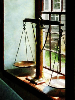 Photograph - Lawyer - Scales Of Justice by Susan Savad