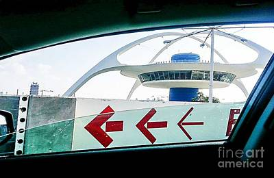 Photograph - Lax Exit Arrows by Fei A