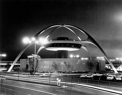 Photograph - Lax Theme Building by Underwood Archives