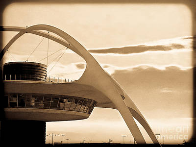 Photograph - Lax Tower Vintage by Fei A