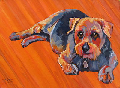 Painting - Lay Lola Lay by Sarah Gayle Carter