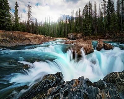 Rocky Mountains Photograph - Layers 2 by Juan Pablo De