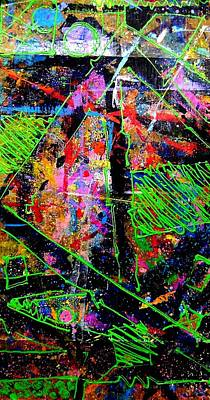 Abstrac Painting - Layers I  by John  Nolan