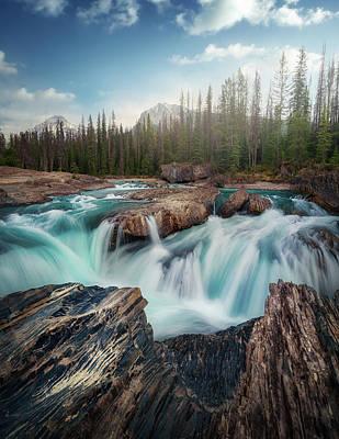 Banff Photograph - Layers by Juan Pablo De