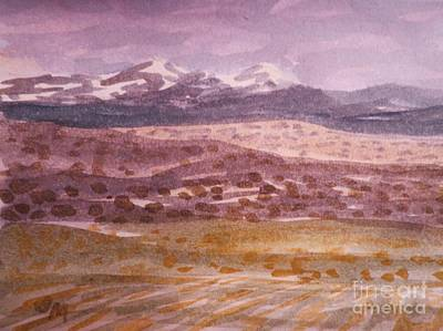 Painting - Layers Of Landscape by Suzanne McKay
