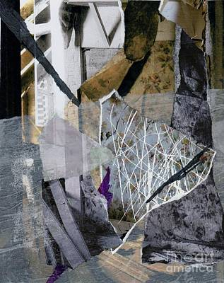 Carolyn Anderson Mixed Media - Layers Of Life by Carolyn Anderson