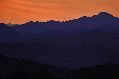 Photograph - Layers Of Mountains  Mg_2143 by David Orias