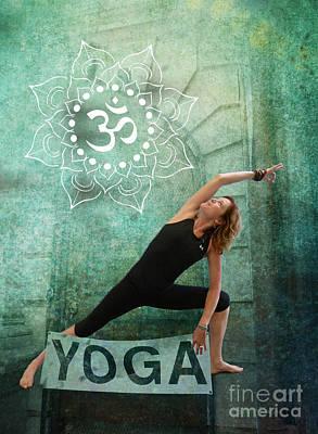 Photograph - Layers Of Yoga by Sally Simon