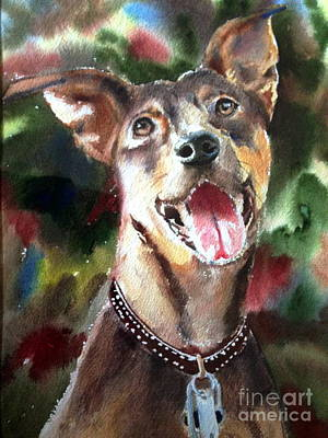 Painting - Layla  by Kathy Flood