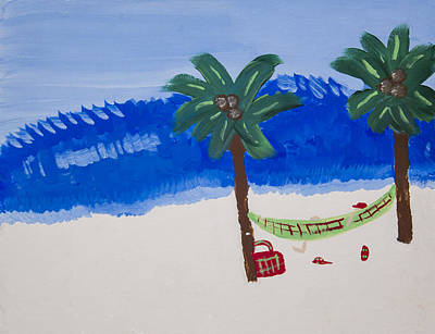 Painting - Lazy Beach by Melissa Dawn
