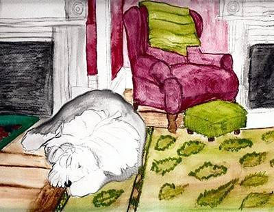 Mixed Media - Lazy Day by Cathy Howard