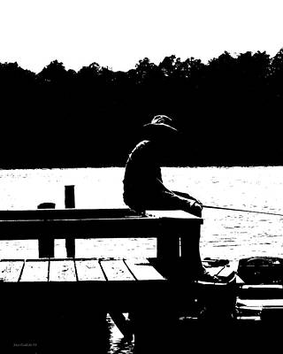 Photograph - Lazy Day On The Dock. by Steve Godleski