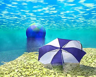 Beach Digital Art - Lazy Days by Betsy Knapp