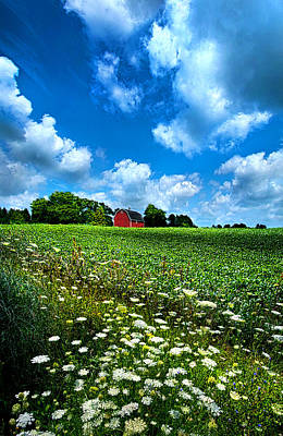 Red Barns Photograph - Lazy Days Of Summer by Phil Koch