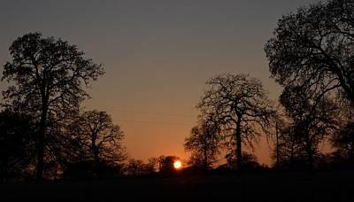 Photograph - Lazy Fall Sunset by Ricardo J Ruiz de Porras