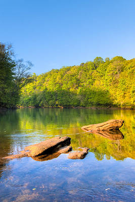 Photograph - Lazy Morning On The Chattahoochee River by Mark E Tisdale